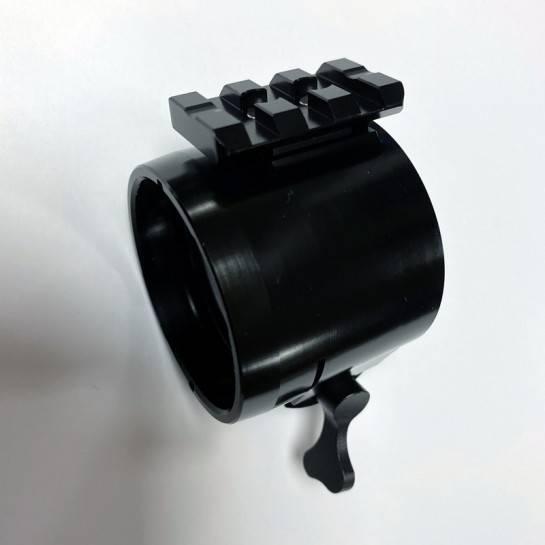 Rýchloupínací adaptér pre Pard NV007 46,5mm + picatinny